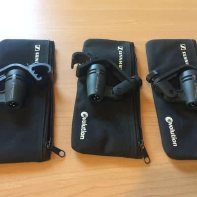 Sennheiser e604 3-Pack Compact Dynamic Drum Microphone Set