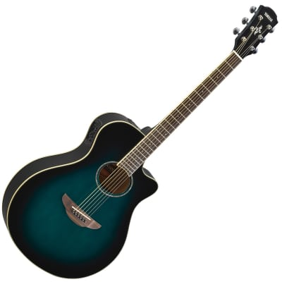 yamaha apx500iii thinline acoustic electric cutaway guitar reverb. Black Bedroom Furniture Sets. Home Design Ideas
