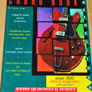 Watch & Learn The Guitarist's Chord Book