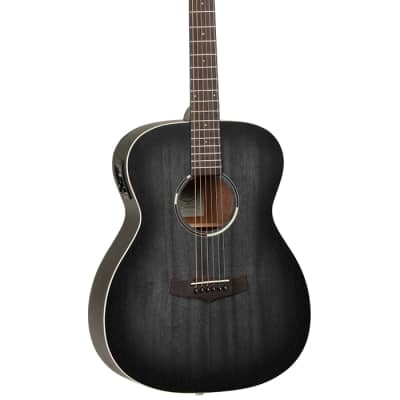 Tanglewood Blackbird Electro Acoustic Smokestack Black Satin for sale