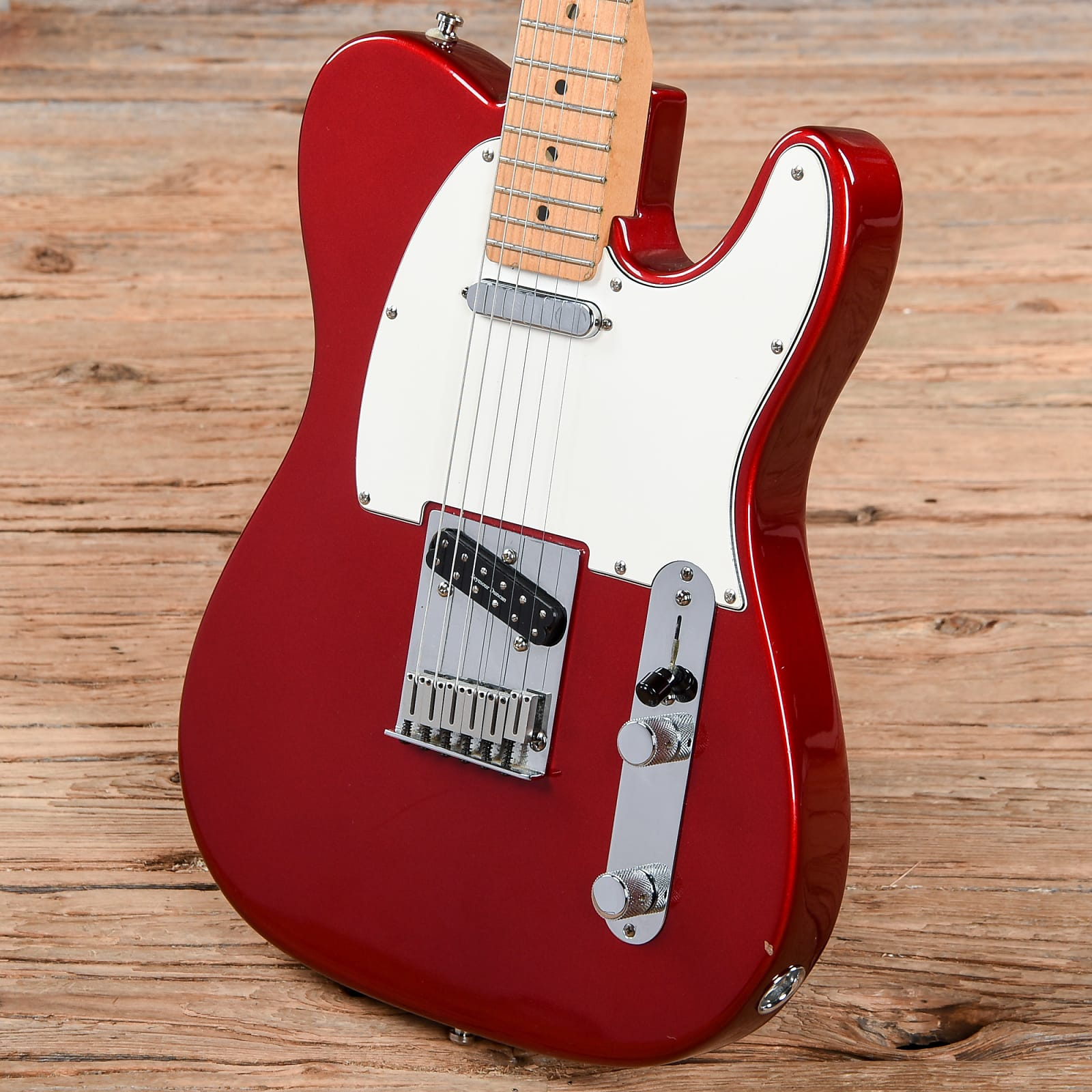 d5dc3be4eb26 Fender American Standard Telecaster Candy Apple Red 1997 (s701)
