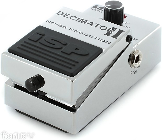 isp technologies decimator ii noise reduction pedal reverb. Black Bedroom Furniture Sets. Home Design Ideas