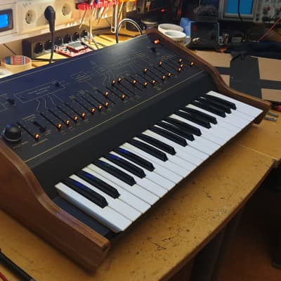 Custom Arp Axxe , fully restored with LED sliders-Lalaland Serviced.