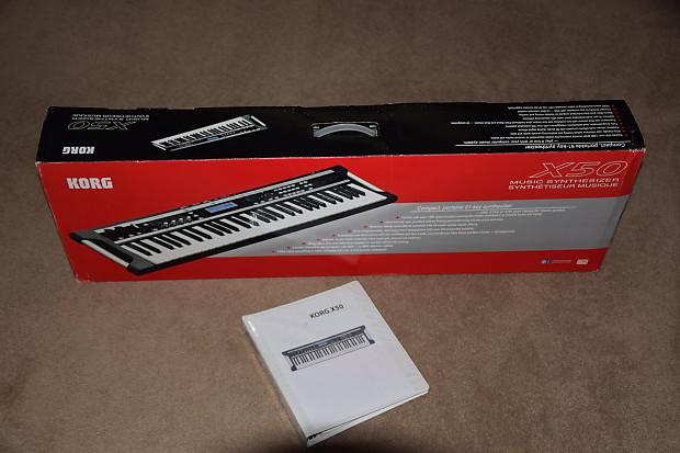 Korg X-50 Korg X-50 Music Synthesizer 2014 Black & Silver
