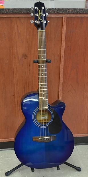 jasmine by takamine s34c nex cutaway acoustic guitar blue reverb. Black Bedroom Furniture Sets. Home Design Ideas