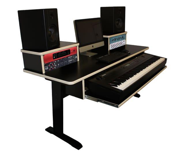 az studio workstations az b 88 keyboard desk reverb. Black Bedroom Furniture Sets. Home Design Ideas