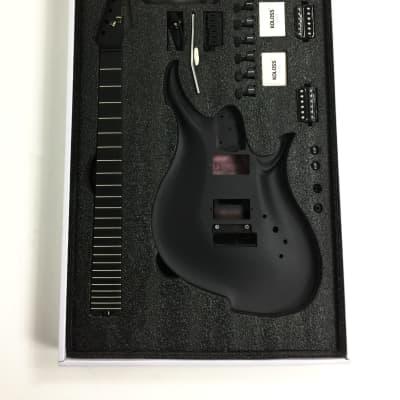 KOLOSS GT-4 Aluminum body Carbon fiber neck electric guitar Black+Bag GT-4 Black  for sale