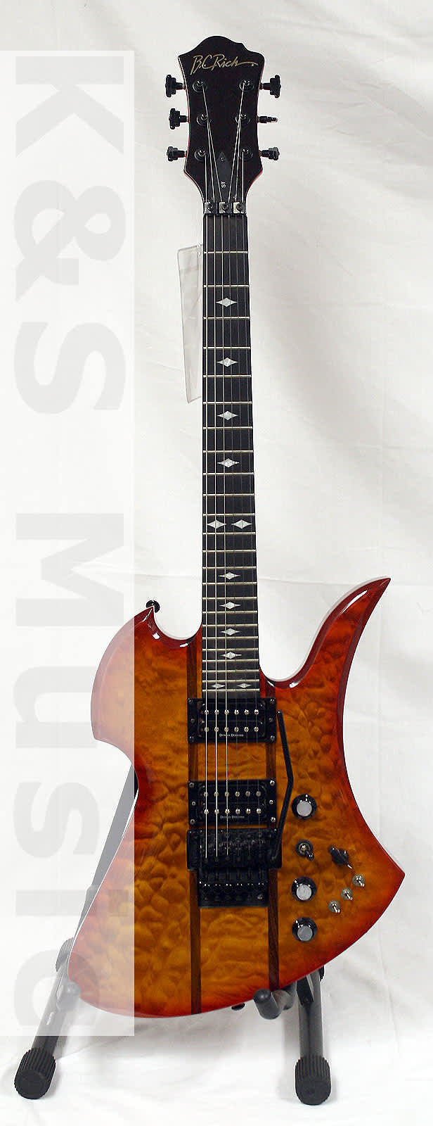 BC Rich Mockingbird ST Honey Burst in Excellent Condition ...