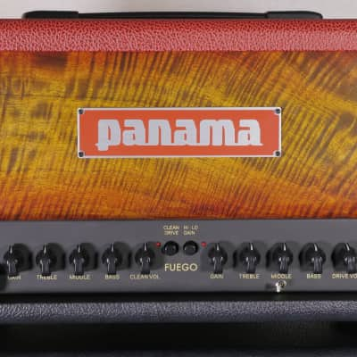Fuego Hot Rod -18W- 3 Channel Tube Head- Sunburst Figured Mango