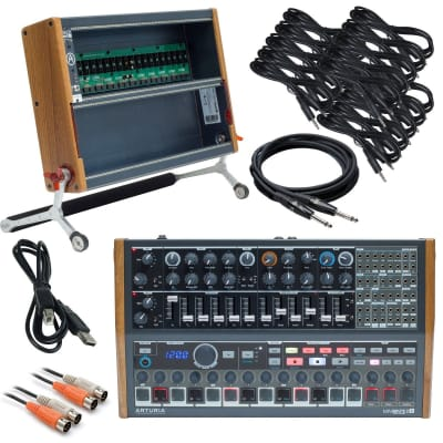 Arturia MiniBrute 2S Analog Synthesizer + RackBrute 6U RIG