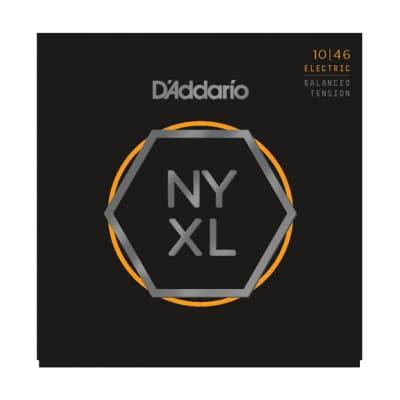 D'Addario NYXL Electric Guitar Strings Balanced Lite 10-46