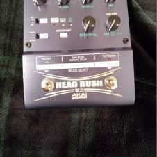 Akai E2 Headrush Delay/Tape Echo/Looper Pedal Metallic Blue