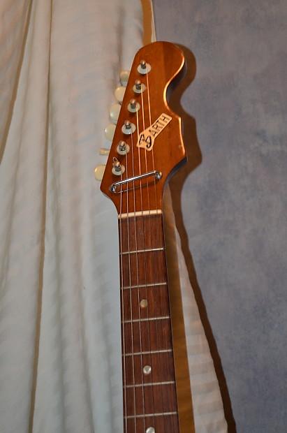 barth electric guitar 60 39 s sunburst reverb. Black Bedroom Furniture Sets. Home Design Ideas