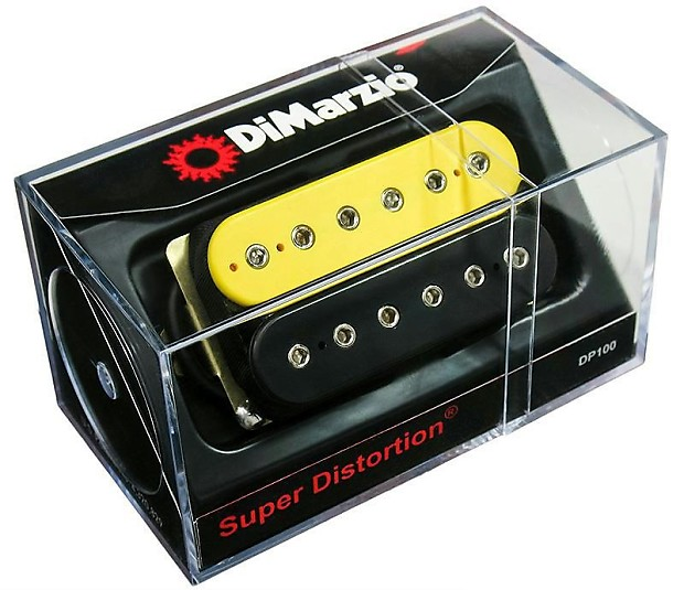 DIMARZIO DP100 Super Distortion Humbucker Pickup | Reverb