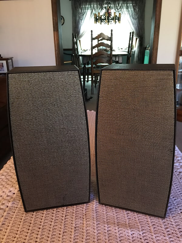 Vintage RCA Victor Model 4VC82 SPEAKERS ONLY 1960's!