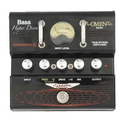 Ashdown James LoMenzo HyperDrive Bass Distortion Pedal