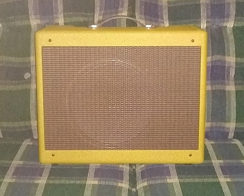 Clark Amplification Beaufort (Fender Tweed 5E3 Deluxe Replica) W/ Combo And  Head Cabinets