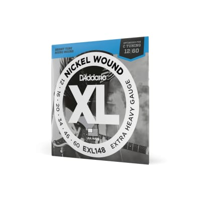 D'Addario EXL148 Electric Guitar Strings 12-60