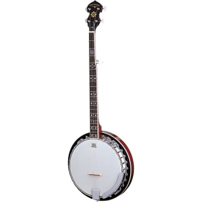 Oscar Schmidt OB5 Left-Handed 5-String Banjo, Remo Head, Mahogany Resonator for sale