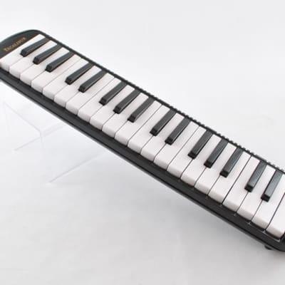 Excalibur 37 Note Pro Melodica Black Polish