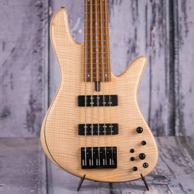 Fodera Emperor 5 Standard 5-String Bass, Natural for sale