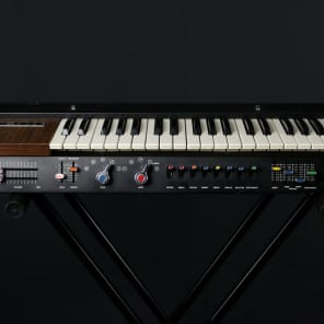 Univox Mini-Korg 700 K1 keyboard synthesizer w/ orig case in excellent condition