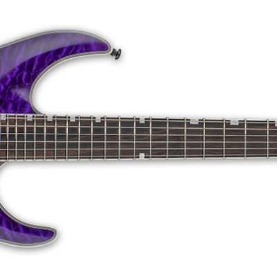 ESP Ltd MH-1000 NT QM STP - See Thru Purple for sale