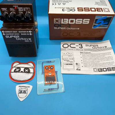 Boss OC-3 Super Octave w/Original Box   Fast Shipping!
