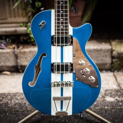 Duesenberg Mike Campbell Bass 2018 blue small scale for sale