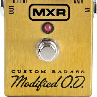 DUNLOP MXR Custom Badass Modified Overdrive Guitar Effect Pedal M77