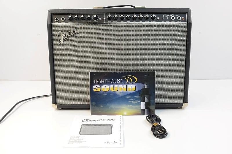 fender champion 100 guitar combo amplifier lighthouse sound reverb. Black Bedroom Furniture Sets. Home Design Ideas