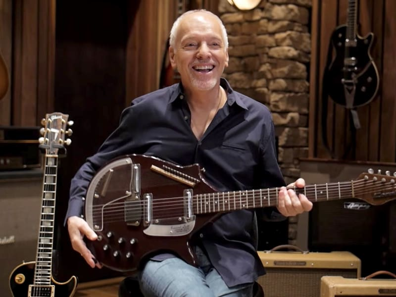 Peter Frampton's Guitar Stories: George Harrison, Electric Lady & More