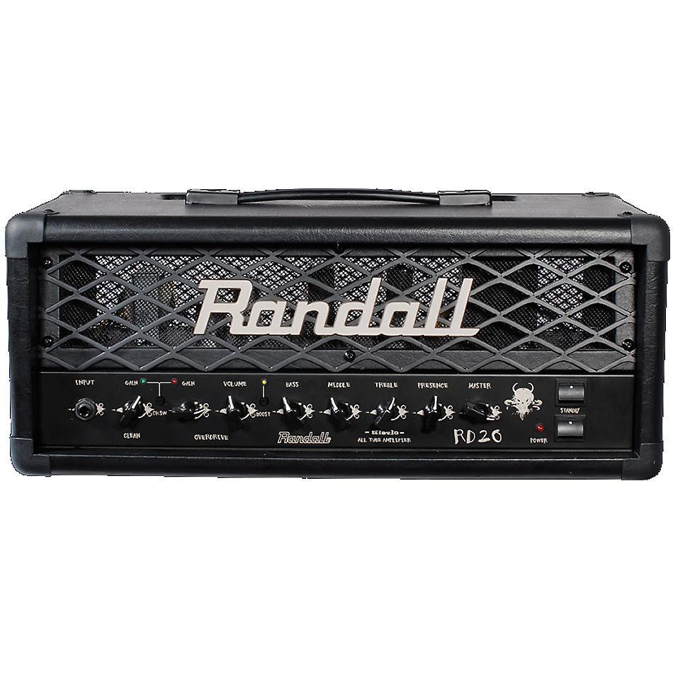 randall rd20h diavlo 2 channel 20 watt tube guitar amp head reverb. Black Bedroom Furniture Sets. Home Design Ideas