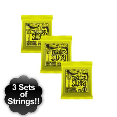 Ernie Ball P02221 Regular Slinky Nickel Wound 10-46 - 3 Pack