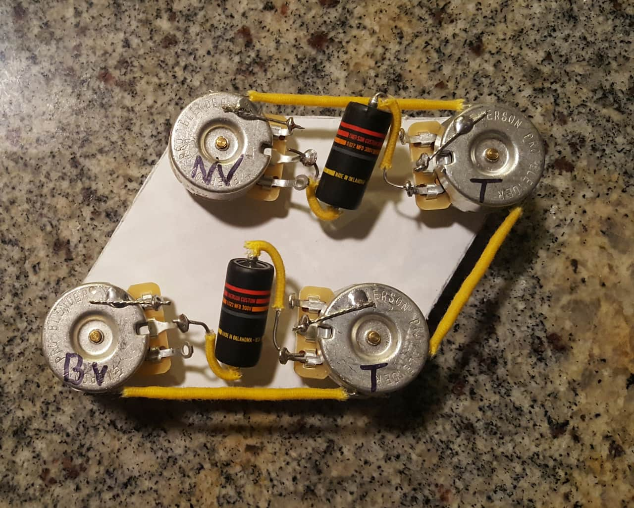 Les Paul Wiring Harness Solutions Premium Vintage Style Emerson Pro Reverb