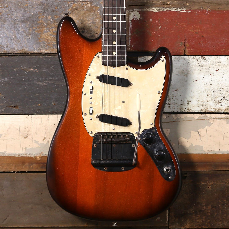 Fender Mustang 1974 Sunburst