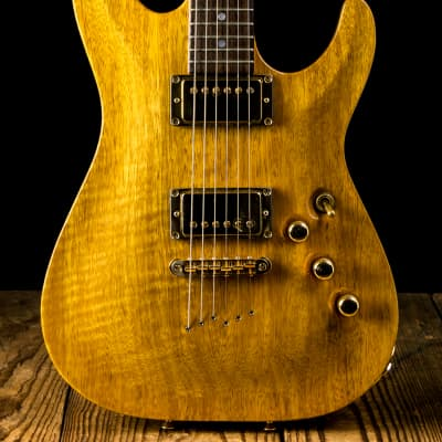 1997 Schecter USA Korina Classic #01 Antique Yellow for sale