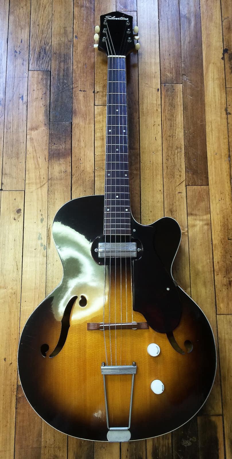 Progressive Near Me >> 1958 Silvertone H-61 1352 Vintage | Creter Guitar Shop | Reverb
