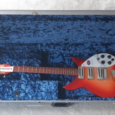 Rickenbacker Rickenbacker 350 V63 Liverpool Fireglo 2018 2018 Fireglo for sale