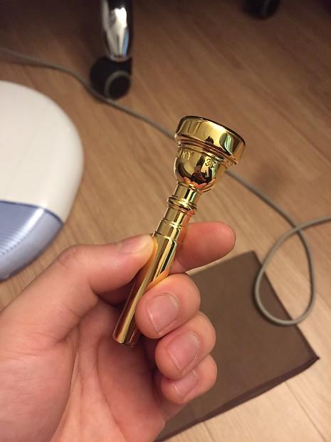 Vincent Bach Mt vernon bach 3c trumpet mouthpiece 1960 Gold plated
