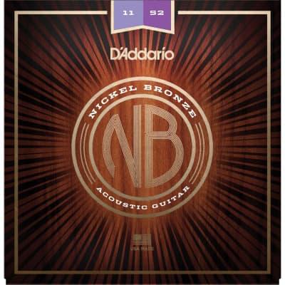 D´Addario Nickel Bronze Acoustic Strings NB1152 11-52