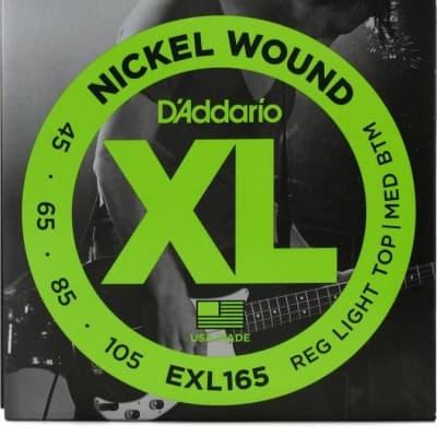 D'Addario EXL165 Bass Guitar Strings 45-105