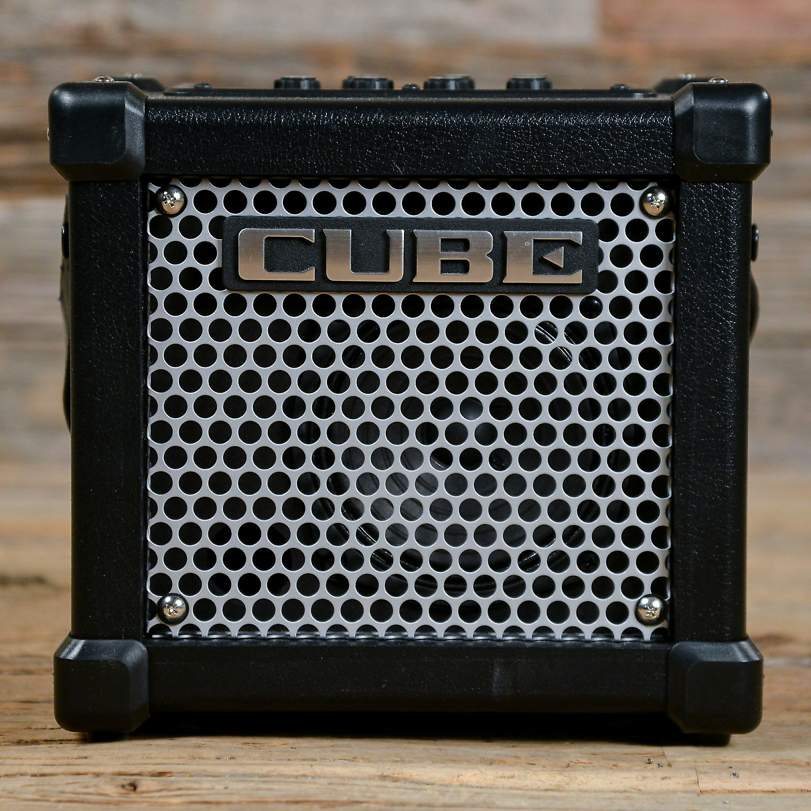 roland micro cube gx 3w 1x5 battery powered guitar reverb. Black Bedroom Furniture Sets. Home Design Ideas