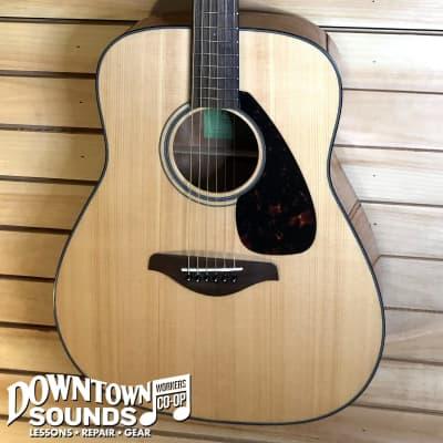 Yamaha FG800 Dreadnought Acoustic Guitar - Natural