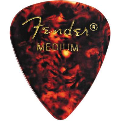 Fender 351 Shape Picks Classic Shell Medium Package of 12