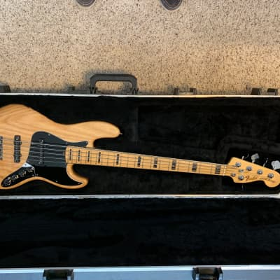 Fender American Deluxe Jazz Bass V 2009 Natural for sale