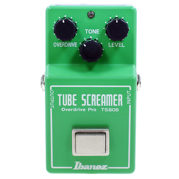 Ibanez Keeley Baked Mod TS-808 Tube ScreamerOverdrive (True Bypass Mod)