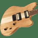 Lomic Apollo Offset Handmade Neck Through Electric Guitar 24.75 Scale #008 USA Made Mahogany