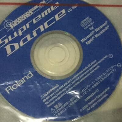 CD Roland SRX-05 Supreme Dance (Compact disk)