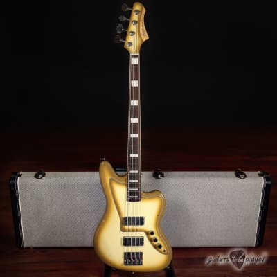 Fano JM4 Alt de Facto Bass Rosewood Fretboard, Block Inlays & Binding – Antigua for sale